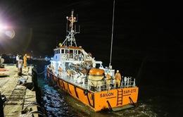 Chìm tàu trong đêm, đã vớt được 2 thi thể thuyền viên
