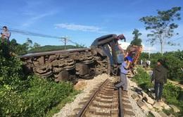Đường sắt Bắc Nam đã thông tuyến sau vụ tai nạn tại Quảng Bình
