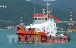 Kịp thời cứu 8 thuyền viên bị nạn trên biển Vũng Tàu
