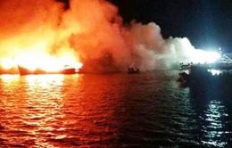 Bà Rịa - Vũng Tàu: Nổ tàu cá, 12 người bị thương, 1 người mất tích