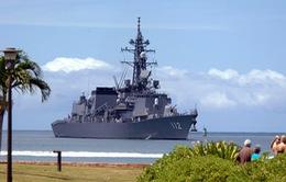 3 tàu chiến Nhật Bản cập cảng Campuchia