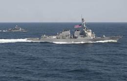 Mỹ - Qatar kết thúc cuộc tập trận hải quân chung