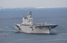 Ra mắt tàu sân bay trực thăng mới của Nhật Bản