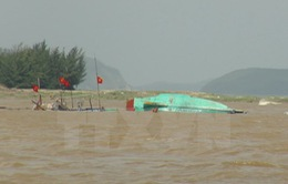 Cà Mau: Nhiều tàu cá bị thiệt hại trong mùa mưa bão