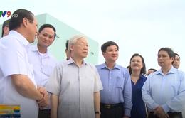 Tổng Bí thư Nguyễn Phú Trọng thăm các mô hình sản xuất ở Bạc Liêu