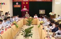 Tổng Bí thư Nguyễn Phú Trọng làm việc với lãnh đạo tỉnh Kon Tum