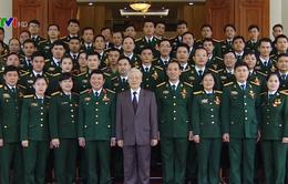 Tổng Bí thư gặp đại biểu thanh niên Quân đội tiêu biểu