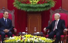 Tổng Bí thư Nguyễn Phú Trọng tiếp Chủ tịch Hạ viện Morocco