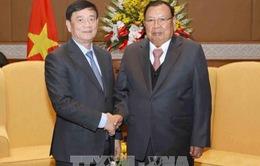 Tổng Bí thư, Chủ tịch nước Lào tiếp Đoàn đại biểu Hội Hữu nghị Việt Nam – Lào