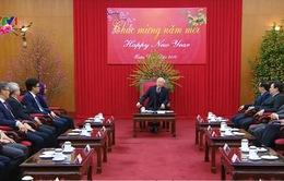 Tổng Bí thư tiếp đoàn ngoại giao 9 nước ASEAN