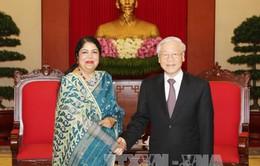 Tổng Bí thư tiếp Chủ tịch Quốc hội Bangladesh
