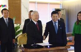 Tổng Bí thư hội kiến Chủ tịch Hội đồng Đại biểu Nhân dân Indonesia