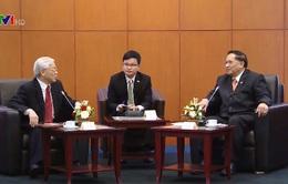 Tổng Bí thư hội kiến Lãnh đạo Hội đồng Hiệp thương nhân dân Indonesia