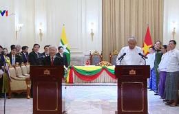Dấu mốc trong quan hệ Việt Nam - Myanmar