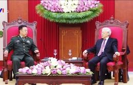 Tổng Bí thư tiếp đoàn Quân ủy Trung ương Trung Quốc
