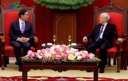 Tổng Bí thư tiếp Đặc phái viên Tổng thống Hàn Quốc