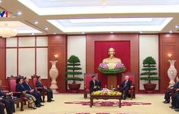 Tổng Bí thư tiếp Phó Chủ tịch nước Lào
