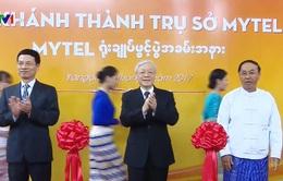 Tổng Bí thư dự lễ khai trương trụ sở Mytel
