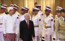 Việt Nam - Myanmar xác lập quan hệ đối tác hợp tác toàn diện