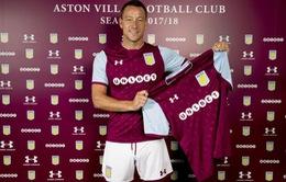 Chuyển nhượng bóng đá quốc tế ngày 03/7/2017: John Terry chính thức ra nhập Aston Villa