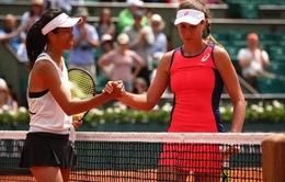 Pháp mở rộng 2017: Tay vợt nữ số 1 Vương quốc Anh thua sốc đối thủ kém 100 bậc