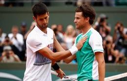 Pháp mở rộng 2017: Thua toàn diện ở tứ kết, Djokovic trở thành cựu vương