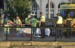 Hà Lan: Đâm xe ở Amsterdam, 8 người bị thương