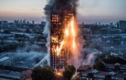 Chưa có thông tin liên quan đến người Việt trong vụ cháy chung cư ở Anh