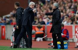 HLV Mourinho hài lòng về Lukaku, tức giận về vụ từ chối bắt tay HLV Stoke