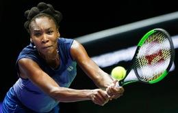 Bảng Trắng WTA Finals 2017: Venus Williams thắng kịch tính Jelena Ostapenko