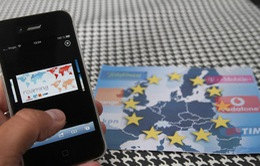 Xóa cước chuyển vùng điện thoại ở châu Âu