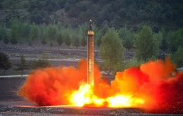 Triều Tiên tiếp tục thử tên lửa