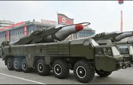 Triều Tiên di chuyển 30 tên lửa đến bờ Tây
