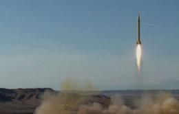 Iran xác nhận thử tên lửa đạn đạo