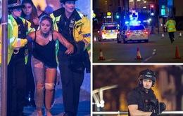 Những hình ảnh khủng khiếp của vụ đánh bom khủng bố tại Manchester