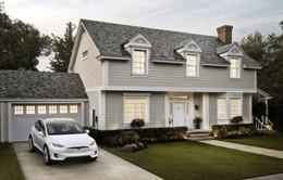 Tesla nhận đặt hàng ngói pin mặt trời