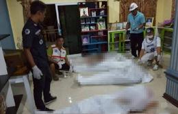 Thái Lan: 8 thành viên trong gia đình bị bắn chết