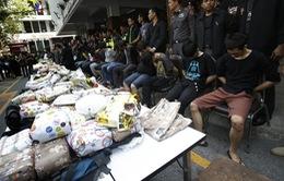 Thái Lan chặn đứng vụ buôn lậu hơn 70kg heroin