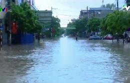 Mưa lớn gây ngập nặng tại Thái Nguyên