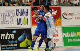 Thái Sơn Nam thắng đậm trong ngày khởi tranh giai đoạn lượt về giải futsal VĐQG HD Bank 2017