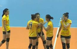 Giải bóng chuyền VĐQG 2017: PVD Thái Bình tạo bất ngờ lớn nhất tại bảng B