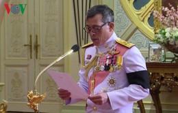 Nhà vua Thái Lan phê chuẩn luật đảng phái chính trị