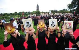 Thái Lan tưởng niệm 1 năm ngày vua Bhumibol Adulyadej băng hà