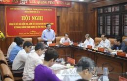 Công bố kết quả kiểm tra, giám sát về phòng, chống tham nhũng tại tỉnh Thừa Thiên Huế