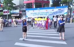 Hưởng ứng Tháng Quốc tế đi bộ an toàn