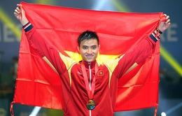Cụm tin SEA Games 29: Vũ Thành An cầm cờ cho đoàn Thể thao Việt Nam