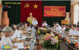 Tổng Thanh tra Chính phủ làm việc tại Vĩnh Long