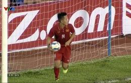 VIDEO: Thanh Bình mở tỉ số cho U23 Việt Nam trước U23 Macau (Trung Quốc)