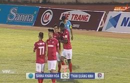 Sanna Khánh Hoà 0-3 Than Quảng Ninh: Chiến thắng thuyết phục trên sân khách