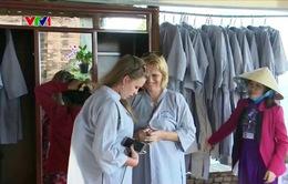 Sáng kiến áo dài miễn phí cho du khách tham quan Tháp Bà Ponagar